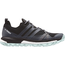 adidas TERREX Agravic Chaussures Femme, core black/grey three/ash green